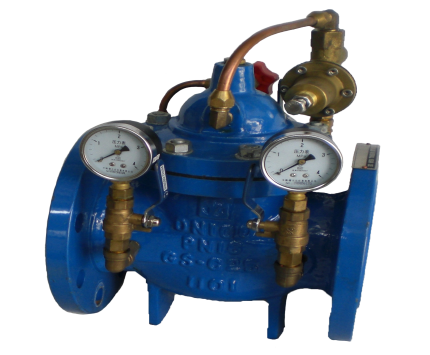 Valvotubi pressure reducing valves art.CV200x