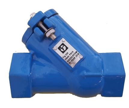 Valvotubi ball check valve threaded ends fig 508
